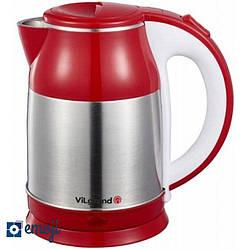 Электрочайник ViLgrand VS18103 red мощность 2000 Вт объем 1,8 литра