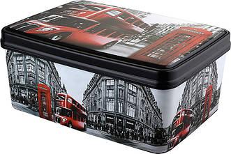 Корзина для хранения Elif Plastik Лондон 3,5 л 504