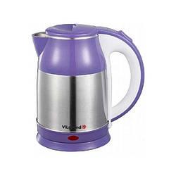 Электрочайник ViLgrand VS18103 purple мощность 2000 Вт объем 1,8 литра