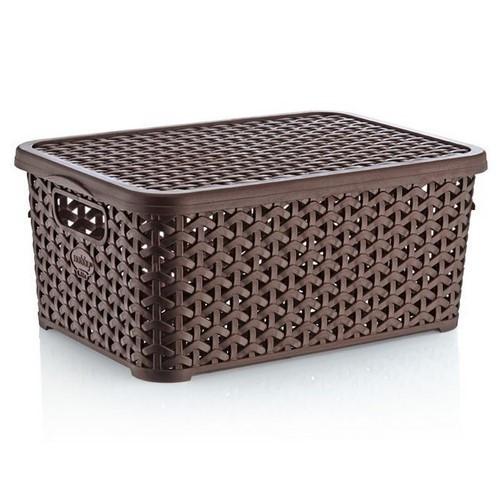 Корзина для хранения Hobby life 04 1256-4 коричневая 10 л
