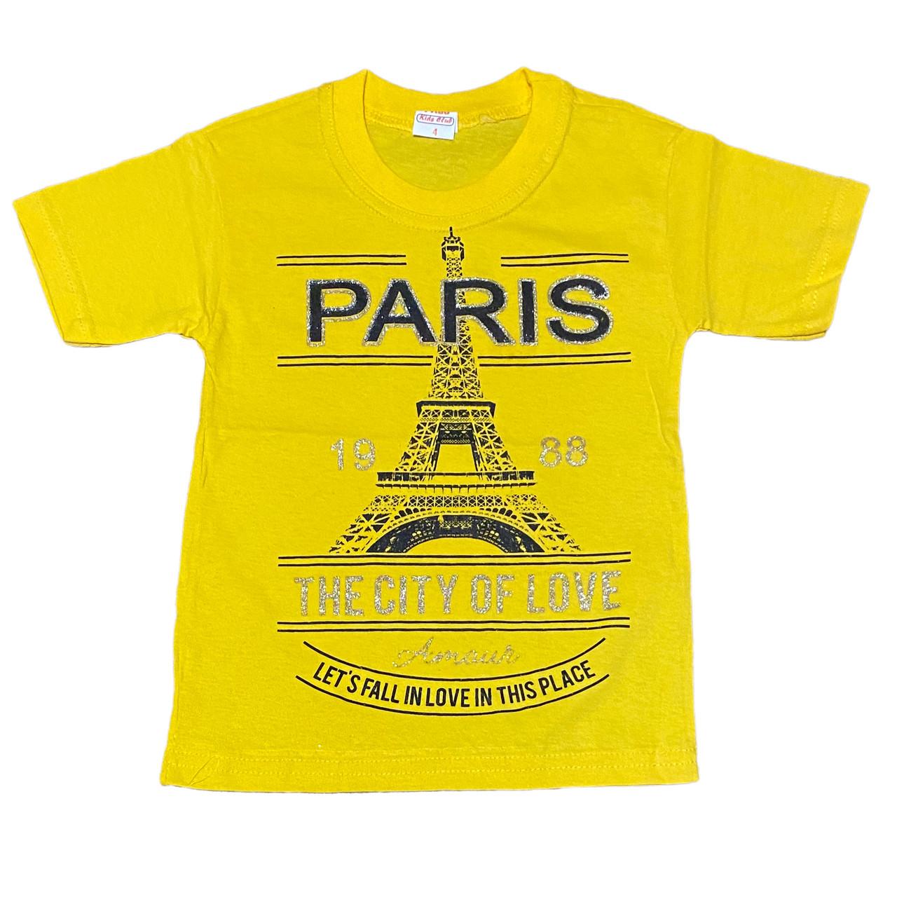 Детская футболка для девочки, 116см