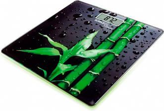 Весы напольные электронные стекло Scarlett SC-BS33E051 черный до 180 кг бамбук