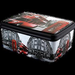 Корзина для хранения Elif Plastik Лондон 5,5 л 20*28*20 см