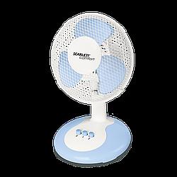 Настільний вентилятор Scarlett SC-DF111S06 30Вт білий