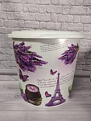 Кошик для білизни кутова Elif Plastik Париж 48 л