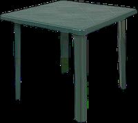Стол квадратный Irak Plastik зеленый