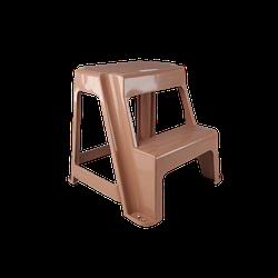 Дитячий стілець «Драбинка» 2 сходинки Irak Plastik коричневий