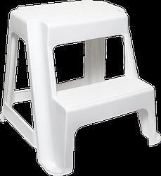 Дитячий стілець «Драбинка» 2 сходинки Irak Plastik білий