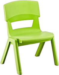 Стілець дитячий із спинкою Jumbo зелений