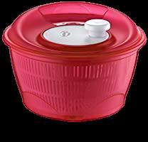Сушка-мойка (механическая центрифуга) 5 л красная