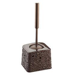 Туалетный комплект Ажур Elif 333 коричневый