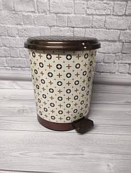 Відро для сміття з педаллю 17л Elif-366 Louis Vuitton