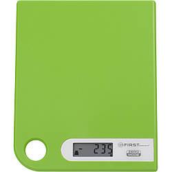 Весы кухонные электронные First FA-6401-1-GN вес до 5 кг точность до 1