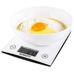 Ваги кухонні електронні Scarlett SC-KS57B10 вага до 5 кг точність до 1