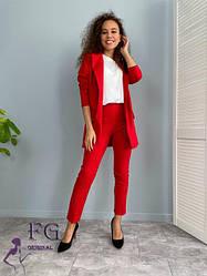 Костюмы женские пиджак с юбкой или штанами
