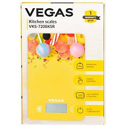 Ваги кухонні електронні VEGAS VKS-7208KSR до 5 кг точність 1 г