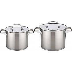 Набор кастрюль Con Brio CB-1157  из 4 предметов: 2 кастрюль с крышками
