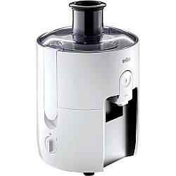 Соковыжималка центробежная Braun SJ 3100 WH мощность 500 Вт объем для сока  0,75 л
