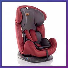 Детское автокресло от рождения до 12 лет группа 0+/1/2/3 (0-36 кг) Lorelli GALAXY красное