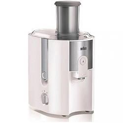 Соковыжималка центробежная Braun Multiquick J500 WH мощность 900 Вт объем для сока  1,25 л