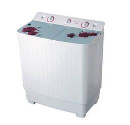 Стиральная машина полуавтомат VILGRAND V551-10G белая на 5,5 кг с вертикальной загрузкой