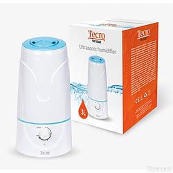 Зволожувач повітря Tecro THF-0300WW потужність 25 Вт Об'єм 3л на площу 30 куб. м