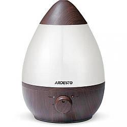 Ультразвуковий зволожувач повітря Ardesto USHBFX1-2300-DARK-WOOD потужність 23 Вт Об'єм 2,3 л на площу 25 куб. м