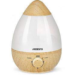 Зволожувач повітря ультразвуковий Ardesto USHBFX1-2300-BRIGHT-WOOD потужність 23 Вт Об'єм 2,3 л на площу 25 куб. м