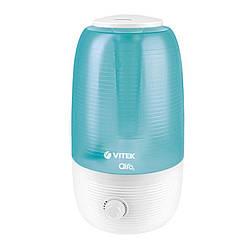 Зволожувач повітря ультразвуковий Vitek VT-2341 потужність 23 Вт Об'єм 2,5 л на площу 20 куб. м