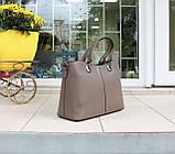 Велика жіноча сумка натуральна шкіра Італія, фото 2