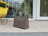 Большая женская сумка натуральная кожа Италия, фото 3
