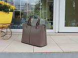 Велика жіноча сумка натуральна шкіра Італія, фото 3