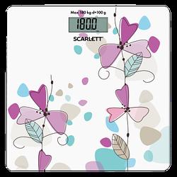 Весы напольные электронные Scarlett SC-BS33E045 максимальный вес 180 кг точность измерения 100 г