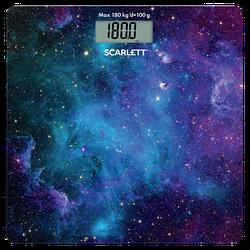 Весы напольные электронные Scarlett SC-BS33E046 максимальный вес 180 кг точность измерения 100 г