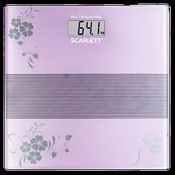 Весы напольные электронные Scarlett SC-BS33E060 максимальный вес 150 кг точность измерения 100 г