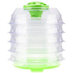Сушка для фруктов Saturn ST-FP0113-10 Green мощность 350 Вт 10 секций