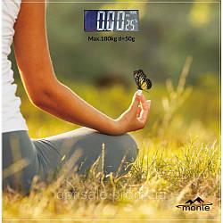 Весы напольные электронные Monte MT-6012-6 до 180 кг