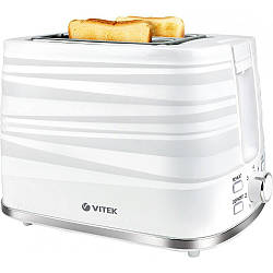 Тостер Vitek VT-1575 930 Вт белый