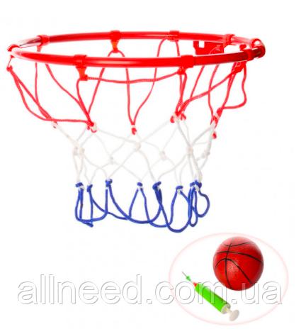 Баскетбольное кольцо металлическое 22 см