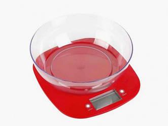 Ваги кухонні MAGIO MG-290N Red