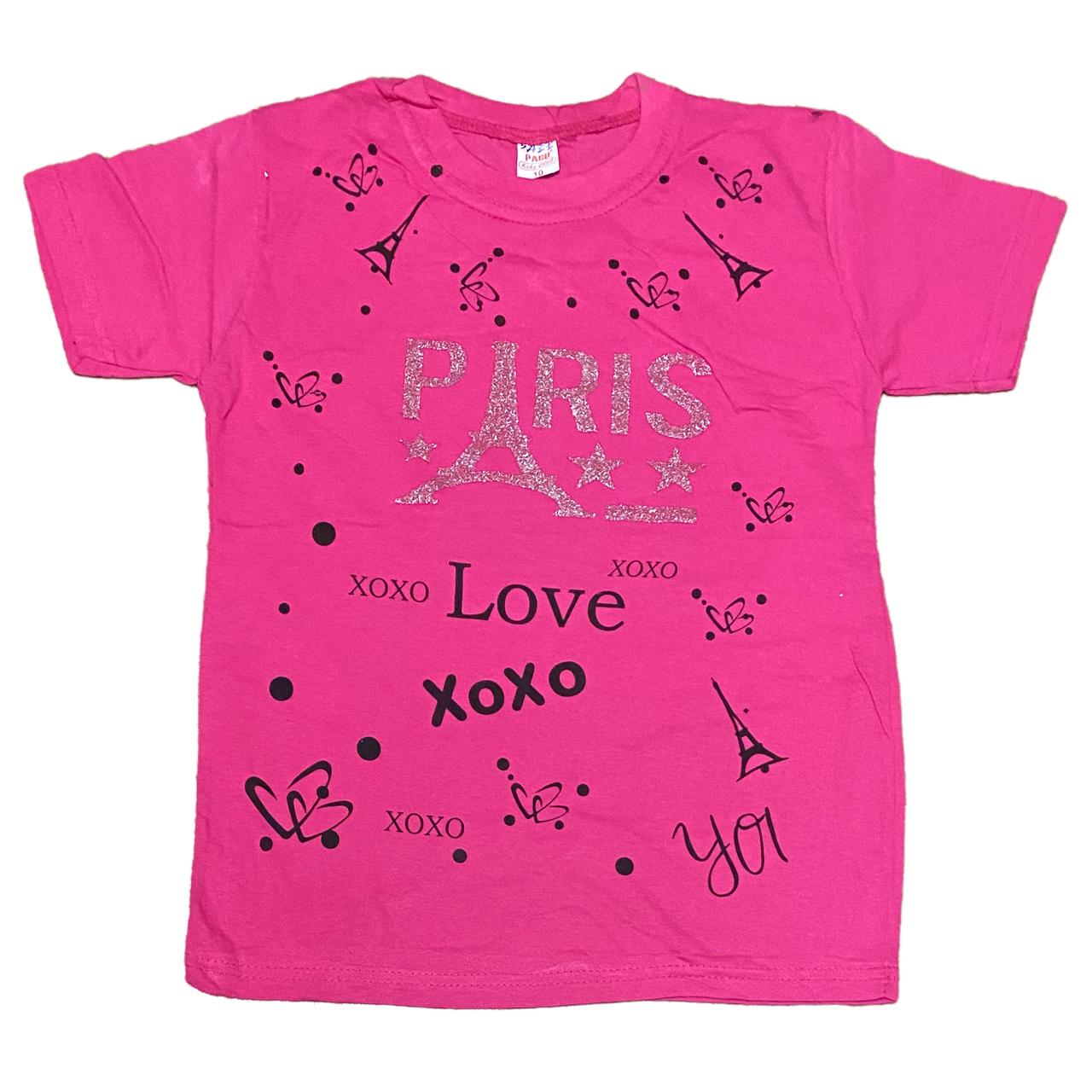 Дитяча футболка для дівчаток, 158см