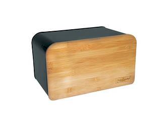 Хлібниця Maestro MR-1770-BL 35х21х21 см, відкидна кришка