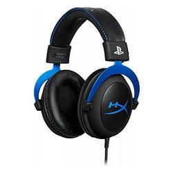 Накладні навушники дротові з мікрофоном Kingston HyperX Cloud Blue For PS4 (HX-HSCLS-BL/EM)