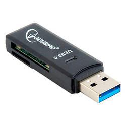 Картрідер USB = microSD/SD Gembird UHB-CR3-01