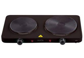 Плита настольная MIRTA HP-9920B (2 конф., 2000 Вт, коричневая)
