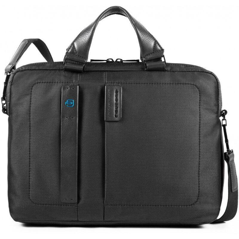 Портфель-сумка чоловічий Італія 38,5*29*9 див. чорний 2201379