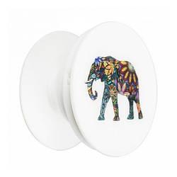 Тримач для телефону PopSocket L048 Elephant
