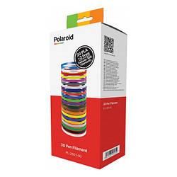 Набір ниток Polaroid 1.75 мм PLA для ручки 3D 22 кольору (PL-2503-00)