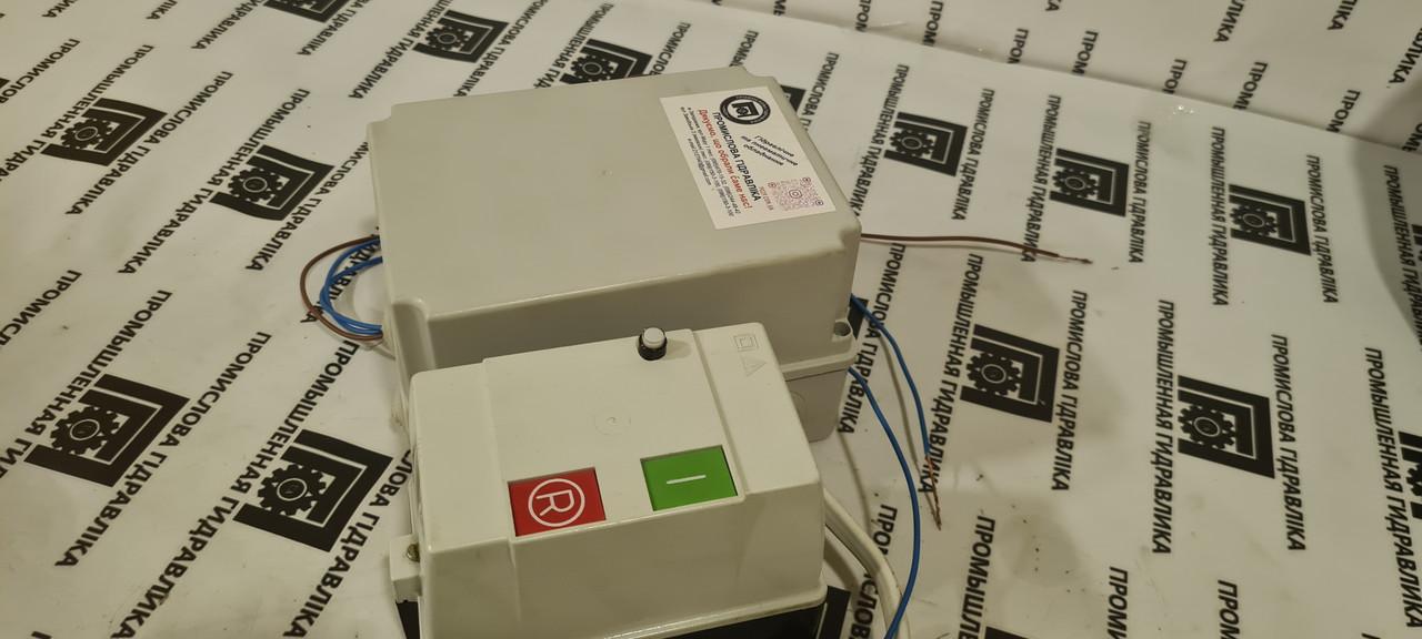 Блок захисту ПГЗ-05.1-РПФА електродвигуна АЇР, комплект підключення 0,75 кВт реле, пускач 3ф/220В