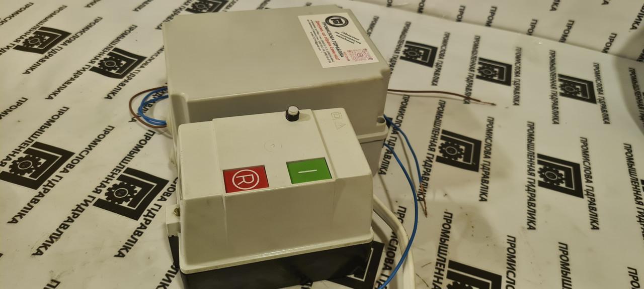 Блок захисту ПГЗ-1.01-РПФА електродвигуна АЇР, комплект підключення 4,0 кВт реле, пускач 3ф/220В